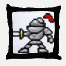 knightscharge Throw Pillow