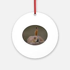 prairie dog alert Ornament (Round)