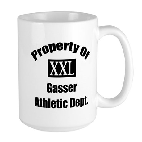 Property Of XXL Gasser Athletic Department Large M