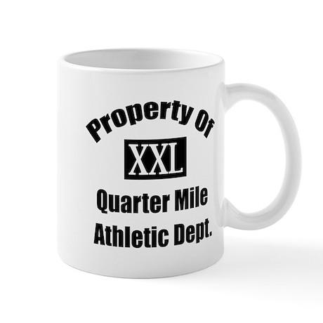 Property XXL Quarter Mile Athletic Department Mug