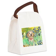 Irises / Havanese Canvas Lunch Bag