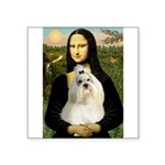 Mona / Havanese Square Sticker 3