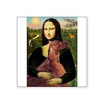 Mona /Irish Setter Square Sticker 3