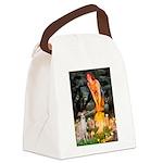 Midsummer's / Ital Greyhound Canvas Lunch Bag