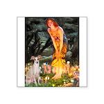 Midsummer's / Ital Greyhound Square Sticker 3
