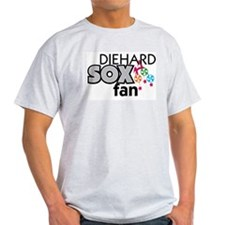 SOX FAN Ash Grey T-Shirt