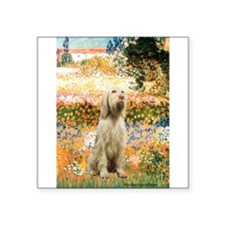 "Garden Fiorito/ Spinone Square Sticker 3"" x 3"""