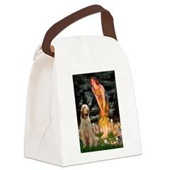 Fairies/ Italian Spinone Canvas Lunch Bag