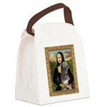 Mona / Irish Wolf Canvas Lunch Bag