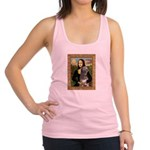 Mona / Irish Wolf Racerback Tank Top