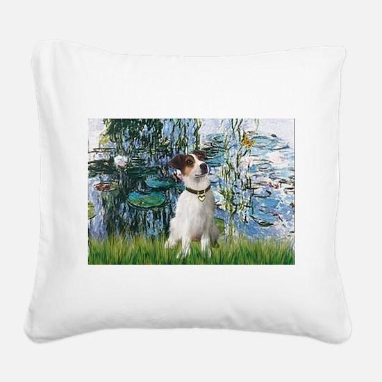 Lilies / JRT Square Canvas Pillow