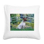 Bridge / JRT Square Canvas Pillow