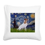 Starry / JRT Square Canvas Pillow