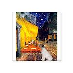 Cafe / JRT Square Sticker 3