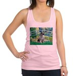 Bridge / Keeshond Racerback Tank Top