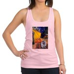 Terrace Cafe - Keeshond (F).png Racerback Tank Top