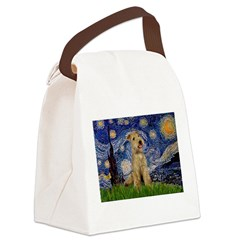 Starry Night Lakeland T. Canvas Lunch Bag