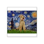 Starry Night Lakeland T. Square Sticker 3