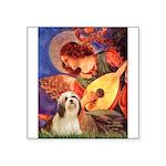 Mandolin / Lhasa Apso #4 Square Sticker 3