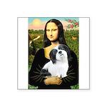 Mona / Lhasa Apso #2 Square Sticker 3