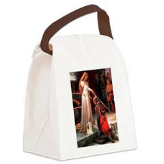 Accolade / Lhasa Apso #4 Canvas Lunch Bag