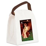 Angel / Lhasa Apso #9 Canvas Lunch Bag