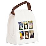 Maltese Famous Art (clr) Canvas Lunch Bag
