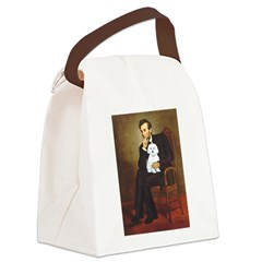 Lincoln / Maltgese (B) Canvas Lunch Bag