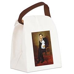 Lincoln / Maltgese (B) Canvas Lunch Bag