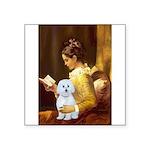 Reading / Maltese Square Sticker 3