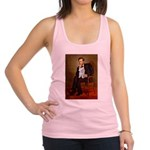 Lincoln's Maltese Racerback Tank Top