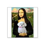 Mona's Maltese (R) Square Sticker 3