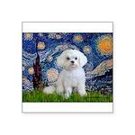 Starry Night / Maltese Square Sticker 3