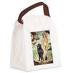 Venus & Newfoundland Canvas Lunch Bag