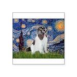 Starry Night / Landseer Square Sticker 3