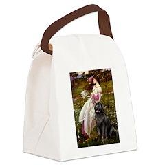 Windflowers / Newfoundland Canvas Lunch Bag