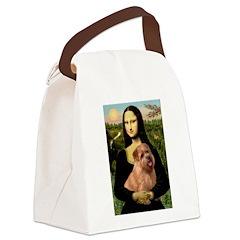 Mona / Norfolk Terrier Canvas Lunch Bag