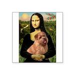 Mona / Norfolk Terrier Square Sticker 3