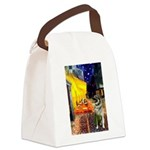 Cafe / Nor Elkhound Canvas Lunch Bag