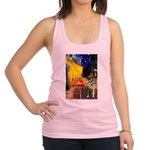 Cafe / Nor Elkhound Racerback Tank Top