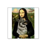 Mona / Nor Elkhound Square Sticker 3
