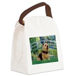 Bridge / Norwich Terrier Canvas Lunch Bag