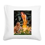 MidEve & Nova Scotia Square Canvas Pillow
