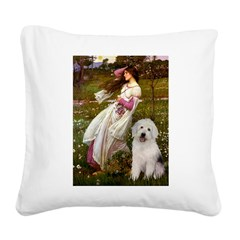 Windflowers / OES Square Canvas Pillow
