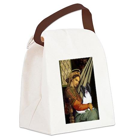 Madonna & Papillon Canvas Lunch Bag