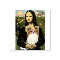 Mona's Papillon Square Sticker 3