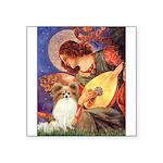 Mandolin Angel & Papillon Square Sticker 3