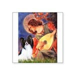 Mandolin Angel & Papillon Square Sticker 3