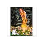 Fairies / Papillon (f) Square Sticker 3