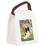 Spring & Papillon Canvas Lunch Bag